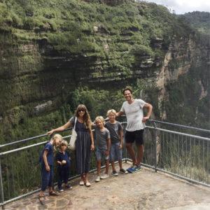 Courtney Adamo family