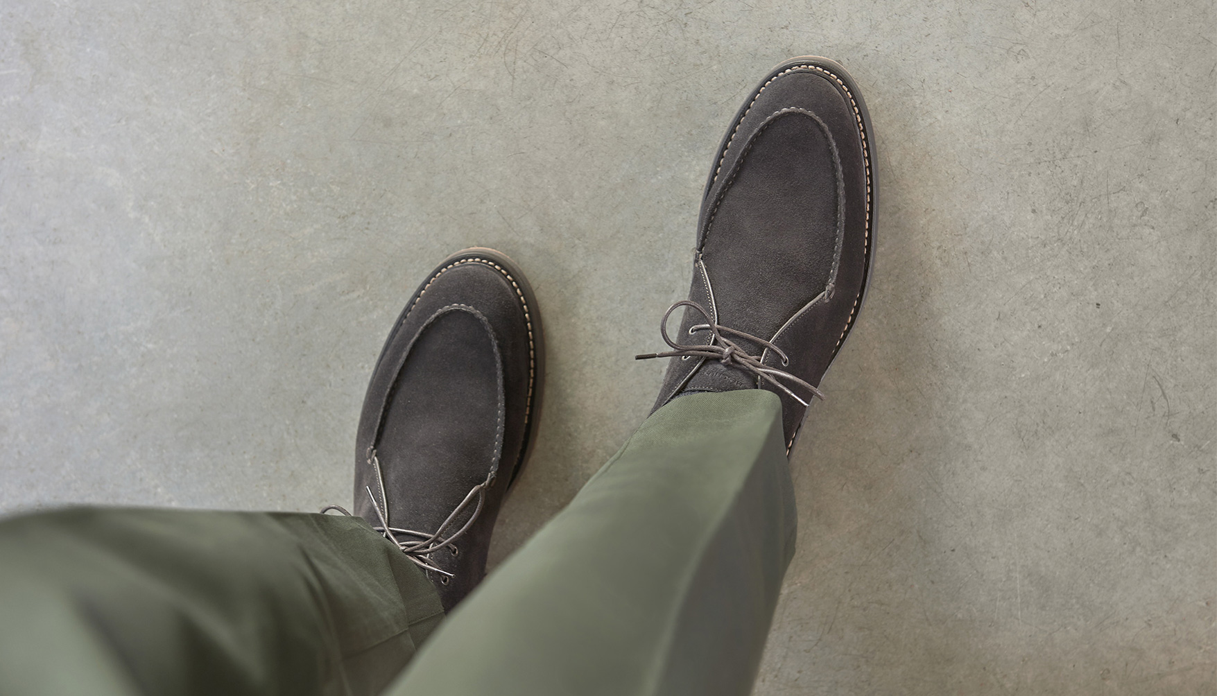 Hydrovelours leather