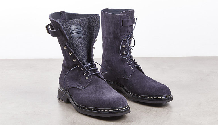Boots Sergent Hydrovelours navy