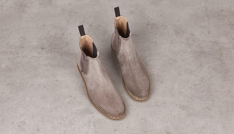 Boots Tremble femme Hydrovelours cèpe